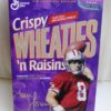 Steve Young #8 (NFL 49ers Crispy Wheaties n Raisins) Wheaties (1)