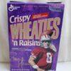 Steve Young #8 (NFL 49ers Crispy Wheaties n Raisins) Wheaties (2)