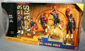 "USA Basketball Super Stars ""Target Exclusive Team 5-Pack"" (Mattel Box Set Collection Series) ""Rare-Vintage"" (2000)"