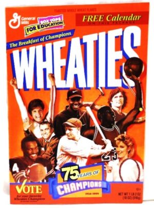 "Wheaties Multi-Sports Calendar ""75 Years Of Champions 1924-1999 Collectors Edition"" (Wheaties-General Mills) ""Rare-Vintage"" (1999)"