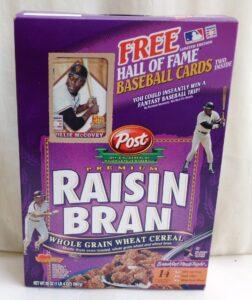 Willie McCovey Empty Box(H Of F Baseball Card! Post Raisin Bran) (1)