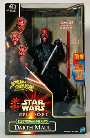 "Star Wars (Episode-I) The Phantom Menace (Feature Film Movie Vintage Collection Series) ""Rare-Vintage"" (1996-1999)"