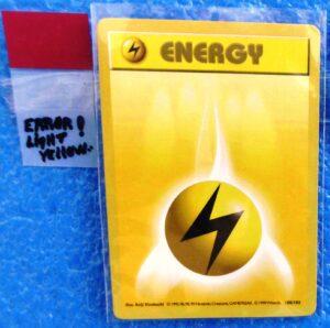 100-102 Energy (Bright Yellow Error! Card)