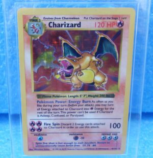 4-102 Charizard (Shadowless Holo Foil Unlimited Base Set Edition)1999 (2a)
