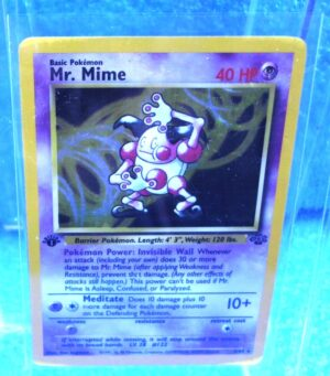 6-64 Mr Mime (Jungle 1st Edition Holo Foil) 1999 (2b)