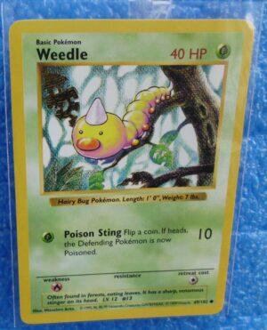 69-102 Weedle (Shadowless Unlimited Base Set Edition)1999 (1)