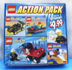 Lego Action Pack (Target 4pc Lego System Set) (0)