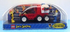 Lego System #4605 (Jack Stone Fire Response SUV In Exclusive Factory Mounting Case) (0)