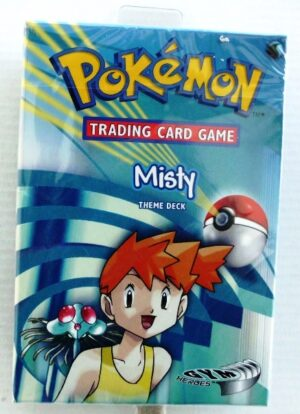 Pokemon (Theme Deck) Misty GYM Heroes (1999-2000) (7a)
