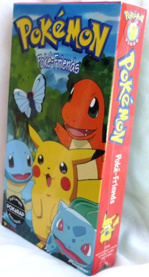 "Pokemon (*Vintage Exclusive TV Show VHS-Videos*) ""New & Open'' Collection ""Rare-Vintage"" (1998)"