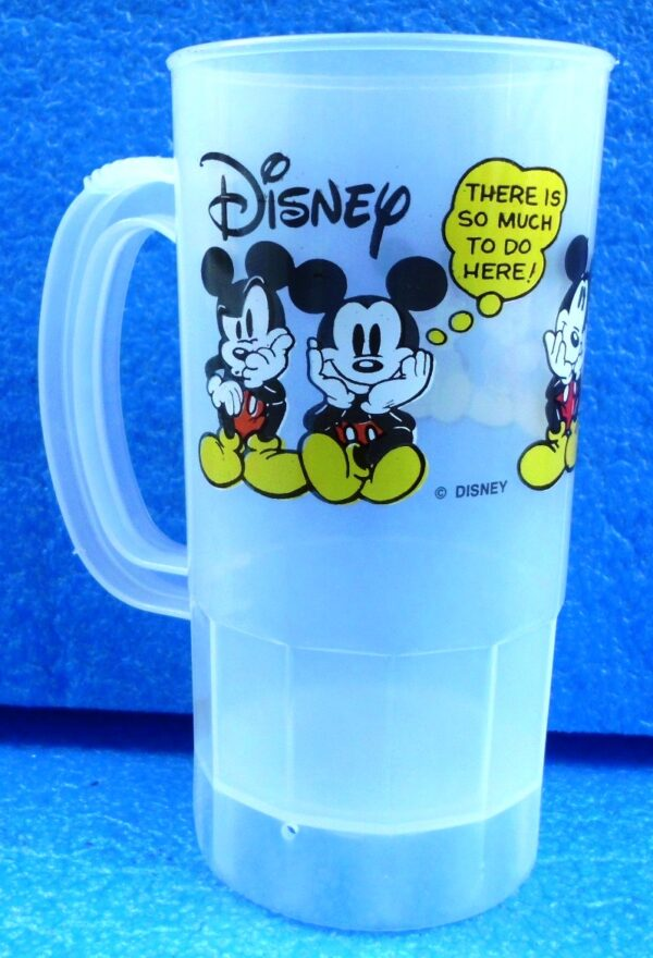 Walt Disney (Mickey Mouse) Super 22 Oz Plastic Cup 1994 Collection (1)