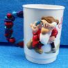 Walt Disney (Snow White And The Seven Dwarfs) Figural Plastic Mug World On Ice 1995 Collection (3)