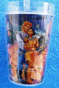 Walt Disney Store (Pocahontas Plastic Decor Glass) 1996 Collection (5)