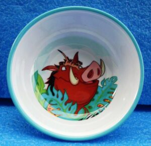 Walt Disney Store (The Lion King Plastic Decor Bowl) 1996 Collection (1)
