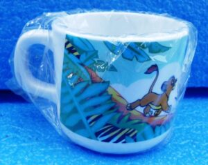 Walt Disney Store (The Lion King Plastic Decor Cup) 1996 Collection (3)