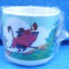 Walt Disney Store (The Lion King Plastic Decor Cup) 1996 Collection (4)