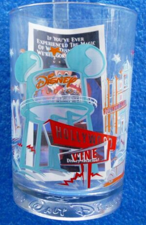 Walt Disney Studios (Hollywood & Vine Glass) Remember The Magic 1996 Collection (1)