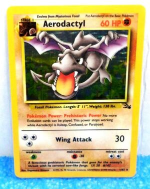 1-62 Aerodactyl (Fossil Unlimited Base Booster Set 1999) (0)