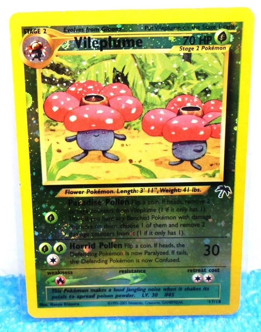 17-18 Vileplume Southern Island Collection Promo Reverse Holo Foil-2001 (0)