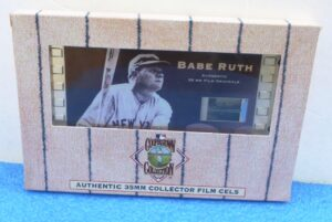 """Cooperstown Collection (""""Authentic 35MM Film Cels and Authentic Sports In Motion Lenticular Cels"""") Vintage National Baseball Hall Of Fame Collection) """"Rare-Vintage"""" (1996-1997)"""