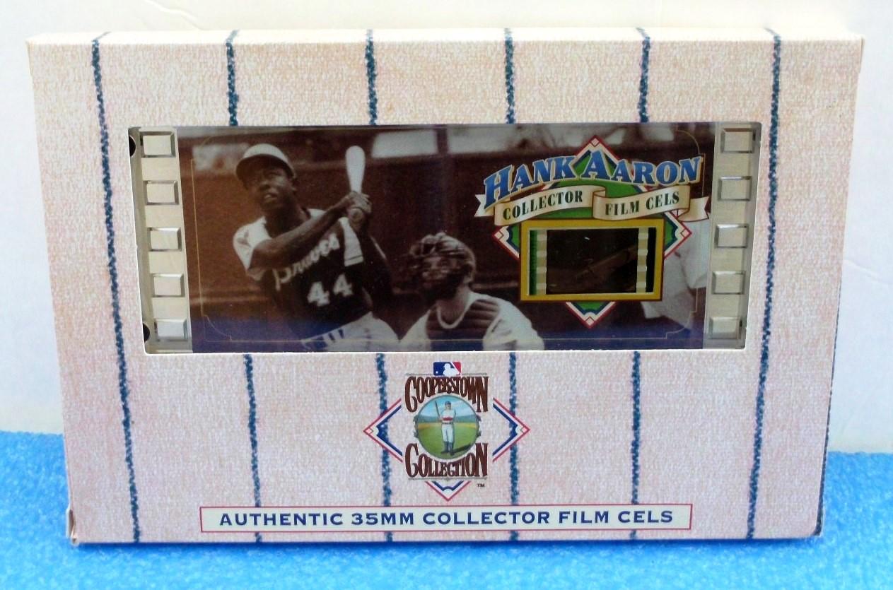Hank Aaron 35MM (Authentic Collector Film Cels) (1)