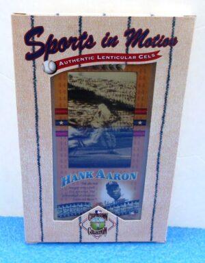 Hank Aaron (Authentic Lenticular Cels) (1)