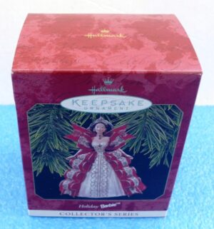 """Holiday Day Barbie """"5th In The Holiday Barbie-Keepsake-1997) (1)"""