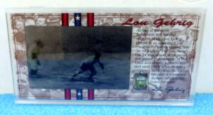 Lou Gehrig (Authentic Vintage Limited Edition Lenticular Cels) (1)