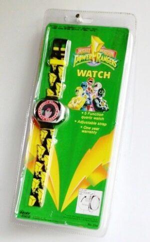 "Kimberly Pink Power Ranger (""Vintage Wrist WatchMighty Morphin Power Rangers"") Saban Entertainment, IncCollection Series ""Rare-Vintage"" (1993)"