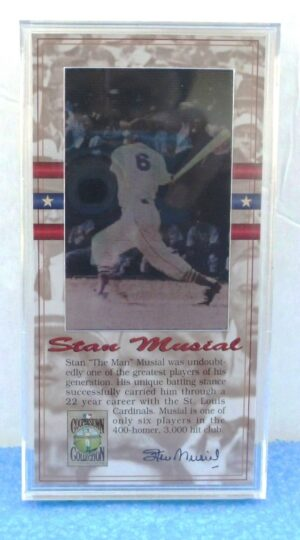 Stan Musial (Authentic Limited Edition Lenticular Cels) (0)