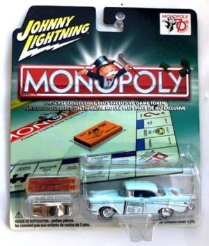 """Johnny Lightning Authentic Replicas """"Vintage Monopoly Exclusive Anniversary & Special Edition Series"""" 1/64 & 1/43 Scale Die-Cast Vehicles Collection) """"Rare-Vintage"""" (1999-2006)"""