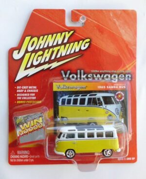 "Johnny Lightning (Volkswagen Collectors & Limited Edition Vintage Series Collection) 1/64 Scale Die-Cast Vehicle (Johnny Lightning Collection Series) ""Rare-Vintage"" (2004-2007)"