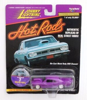 """Johnny Lightning Authentic Replicas """"Vintage Hot Rods Series"""" 1:64 Scale Die-Cast Vehicles (Limited Edition & Real Wheels Series Collection) """"Rare-Vintage"""" (1997-2000)"""
