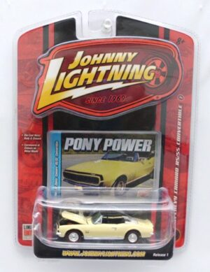 "Johnny Lightning (Pony Power Limited Edition Vintage Series) 1/64 Scale Die-Cast Vehicle (Johnny Lightning Collection Series) ""Rare-Vintage"" (2005-2006)"
