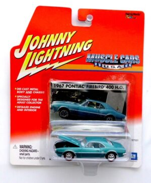 "Johnny Lightning (Muscle Cars USA Vintage Series) 1/64 Scale Die-Cast Vehicle (Johnny Lightning Collection Series) ""Rare-Vintage"" (2000-2001)"