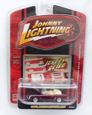 """Johnny Lightning Authentic Replicas """"Vintage RetroRC2 Series"""" 1:64 Scale Die-Cast Vehicles (Limited Edition & Real Wheels Series Collection) """"Rare-Vintage"""" (2004-2007)"""