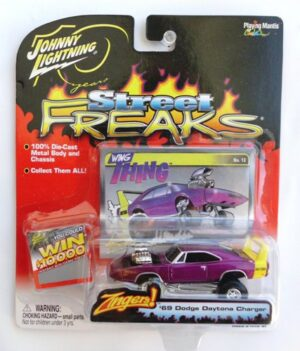 "Johnny Lightning (Street Freaks Vintage Multi-Series Collection) 1/64 Scale Die-Cast Vehicle (Johnny Lightning Collection Series) ""Rare-Vintage"" (2003-2009)"