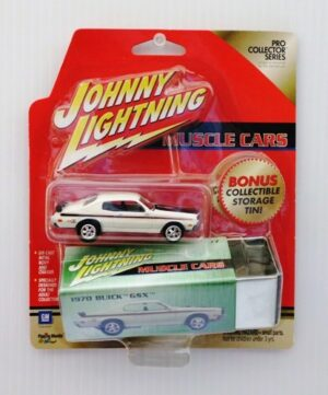 "Johnny Lightning (Mopar Pro Collector Tin Limited Edition Series) Vintage 1/64 Scale Die-Cast Vehicle (Johnny Lightning Collection Series) ""Rare-Vintage"" (2000-2001)"