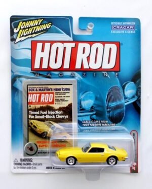 "Johnny Lightning (Hot Rod Magazine Vintage Series Collection) 1/64 Scale Die-Cast Vehicle (Johnny Lightning Collection Series) ""Rare-Vintage"" (1999-2005)"