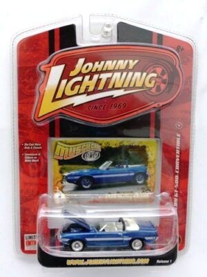 "Johnny Lightning (MuscleCars Vintage Limited Edition Series) 1/64 Scale Die-Cast Vehicle (Johnny Lightning Collection Series) ""Rare-Vintage"" (2006-2007)"