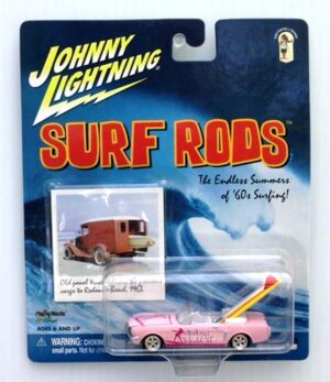 "Johnny Lightning (Surf Rods-The Endless Summers Of 60s Surfing Vintage Series) 1/64 Scale Die-Cast Vehicle (Johnny Lightning Collection Series) ""Rare-Vintage"" (2001-2003)"