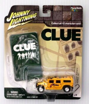 "Johnny Lightning (Clue Limited Edition Vintage/Modern Series) 1/64 Scale Die-Cast Vehicle"" (Johnny Lightning Collection Series) ""Rare-Vintage"" (2002-2004)"