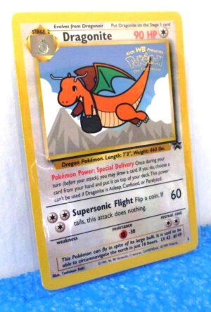 "Dragonite Promo Card #5 ""Gold Seal Stamped-1999-a (1)"