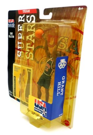 Grant Hill (USA NBA Super Stars Series) Limited Edition 2000 Blue (5)