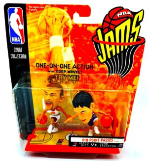Jason Kidd vs John Stockton (NBA Jams 2-Pack) One On One (4a)