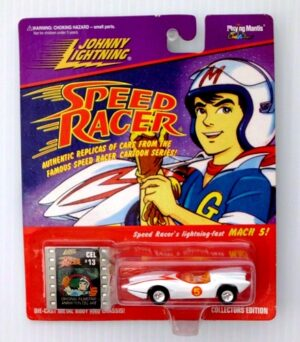 "Johnny Lightning (Speed Racer Authenic Replicas Collectors Edition Series) Vintage 1/64 Scale Die-Cast Vehicle (Johnny Lightning Collection Series) ""Rare-Vintage"" (1996-1997)"