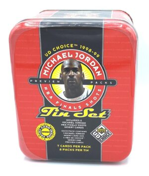 Michael Jordan (Tin Set UD Choice 8-Pack NBA Finals Shots-1998) (1)