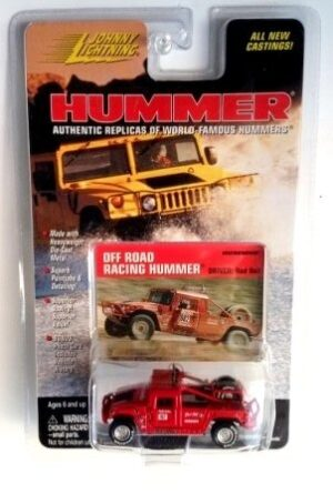 """Johnny Lightning Authentic Replicas """"Vintage Hummer Series"""" 1:64 Scale Die-Cast Vehicles (Limited Edition & Real Wheels Series Collection) """"Rare-Vintage"""" (1998-2000)"""
