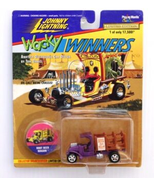"Johnny Lightning (Wacky Winners Limited Edition Vintage Series Collection) 1/64 Scale Die-Cast Vehicle (Johnny Lightning Collection Series) ""Rare-Vintage"" (1995-1996)"