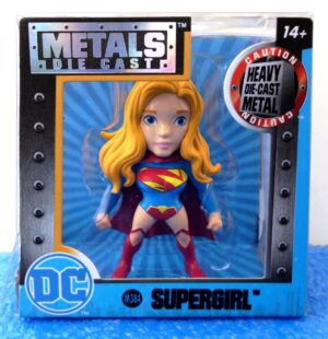 Supergirl (M384) Blue (DC Metals Die Cast  2.5-2016) (0)